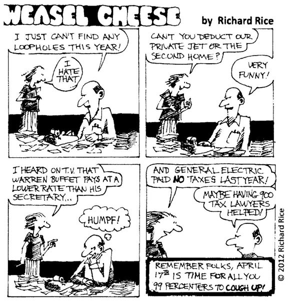 Weasel Cheese: 4-12-12