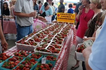 Chattanooga Market: Strawberry Festival