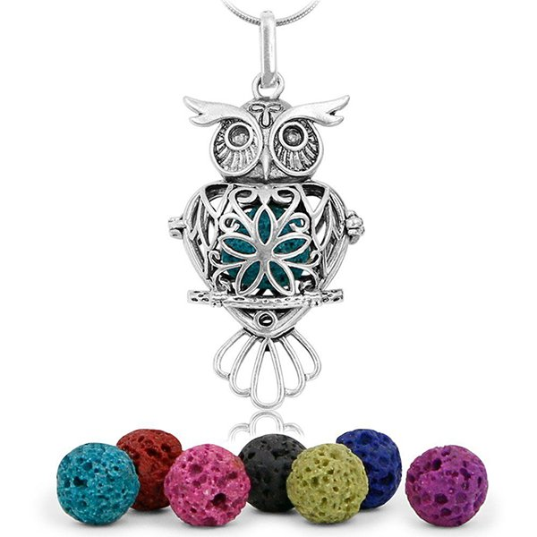 Maromalife Essential Oil Necklace Lava Stone Diffuser Necklace.png
