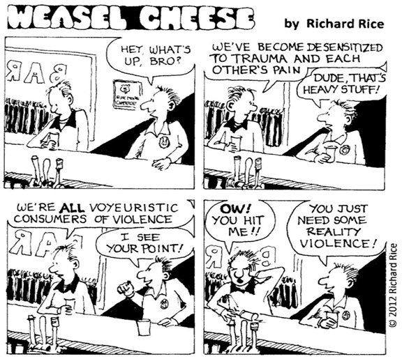 Weasel Cheese: 7-5-12