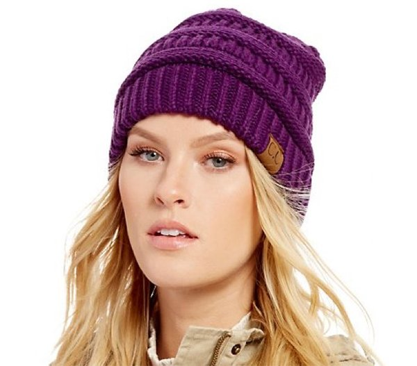 C.C Cable Knit Beanie Skully.png