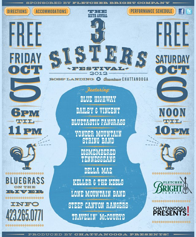 6th Annual 3 Sisters Bluegrass Festival