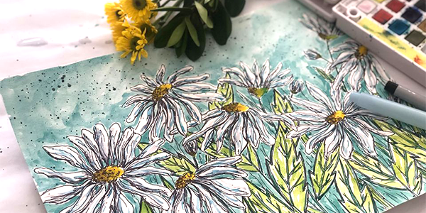 Free Class - Watercolor Daisies.png