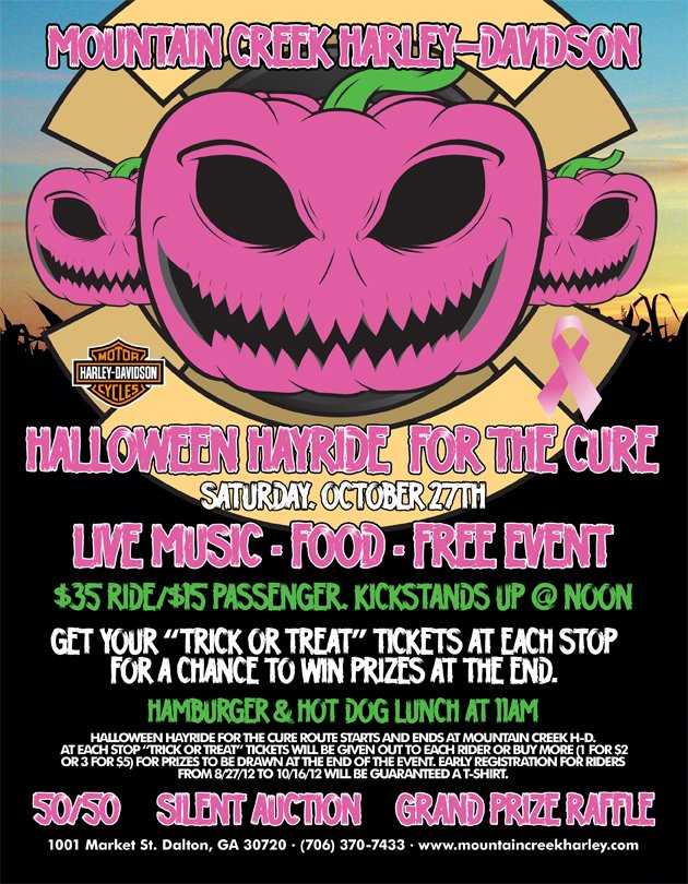 Halloween Hayride for THE CURE