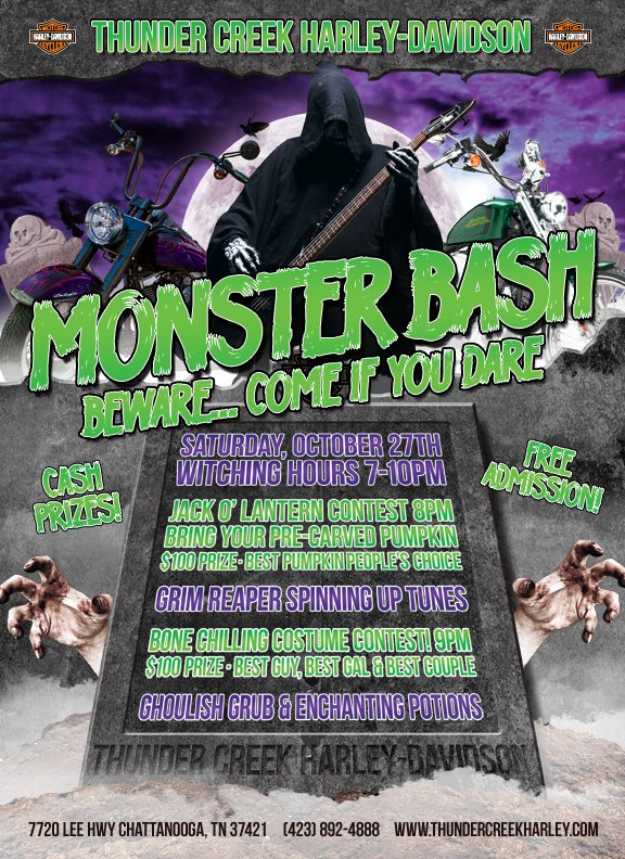 Monster Bash @ Thunder Creek Harley