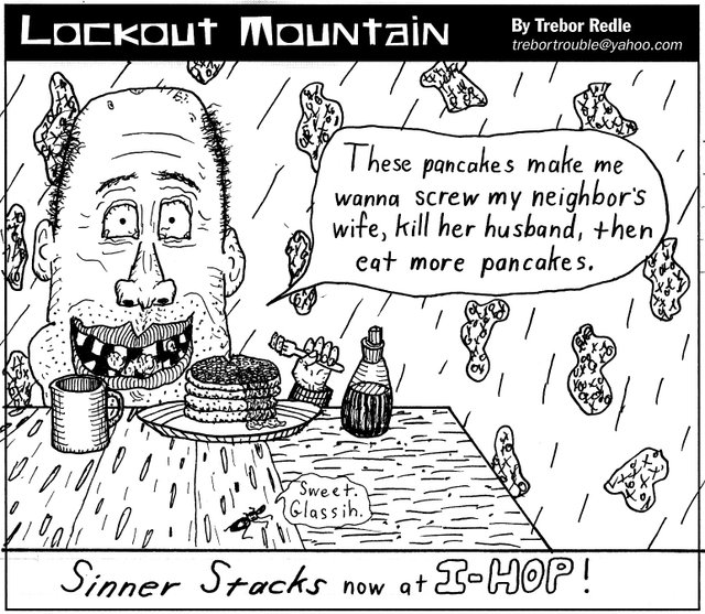 Lockout Mountain by Trebor Redle