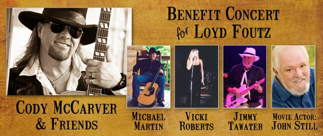 Benefit for Loyd Foutz
