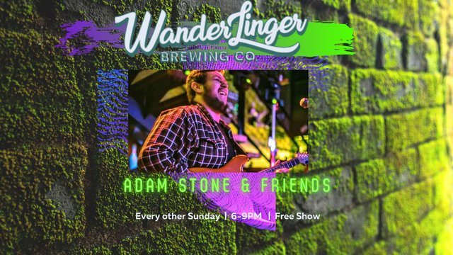 Adam Stone and Friends story (Facebook Cover)