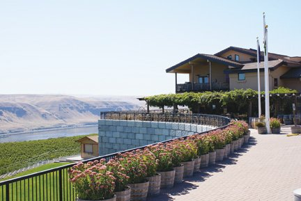 Maryhill Vinyards, Washington