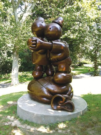 'Free Money' by Tom Otterness