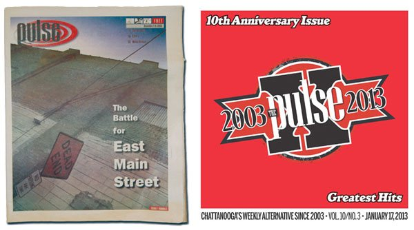 Pulse anniversary old new covers