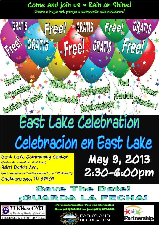 East lake Celebration