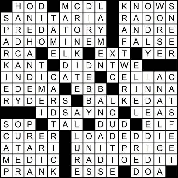 crossword solution 2-14-13