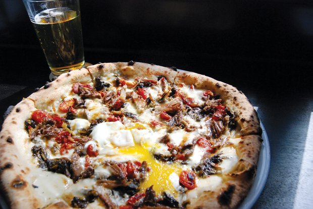 duck confit pizza