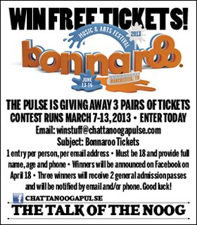 Win Free Bonnaroo Tickets!