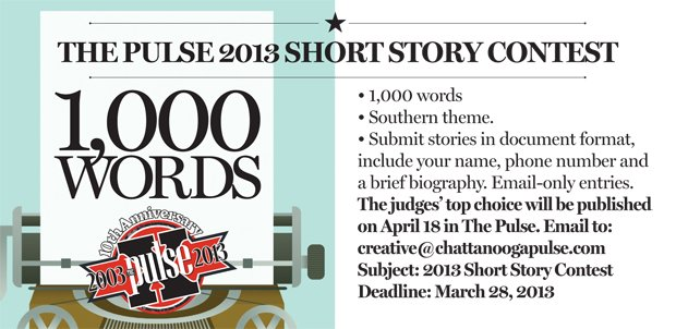 Pulse Short Story Contest now under way - The Pulse