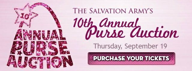 The Salvation Army Women's Auxiliary 10th Annual Purse Auction