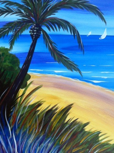 "Painting Workshop: ""Summer Breeze"""