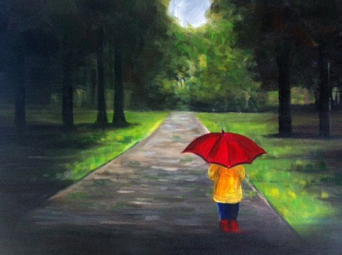 "Painting Workshop: ""Rainy Day"""