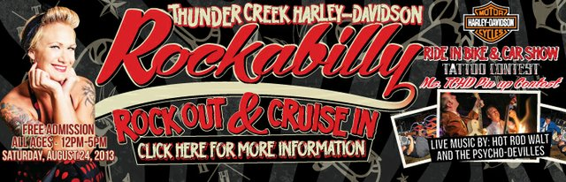 Rockabilly Rock Out & Cruise In