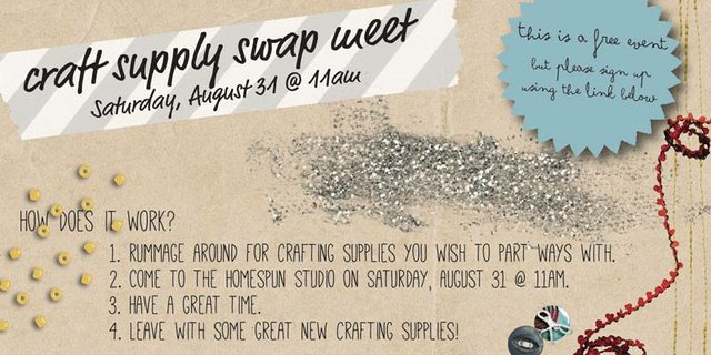 Crafting Supply Swap Meet