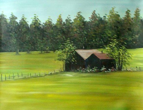 "Painting Workshop: ""Old Barn"""