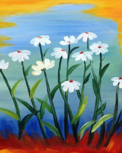 "Painting Workshop: ""Lots of Daisies"""