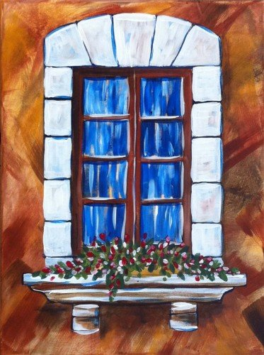 "Painting Workshop: ""Window"""