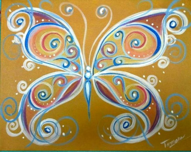 "Painting Workshop: ""Butterfly - Choose your colors!"""