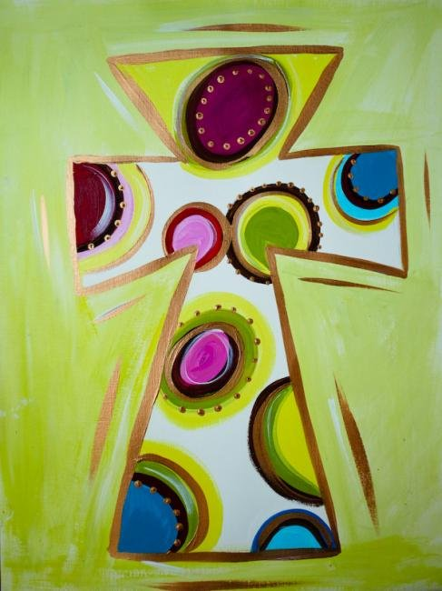 "Painting Workshop: ""Colorful Cross"""
