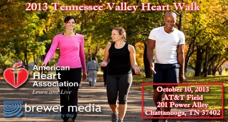 Tennessee Valley Heart Walk 2013