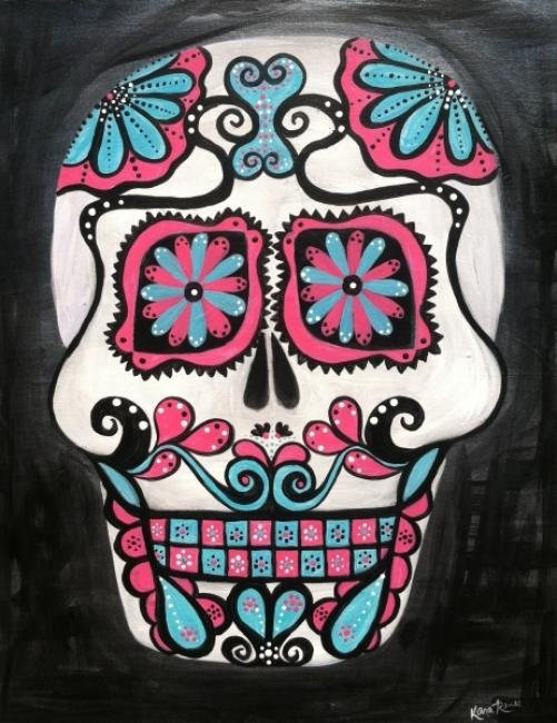 "Painting Workshop: ""Sugar Skull"""