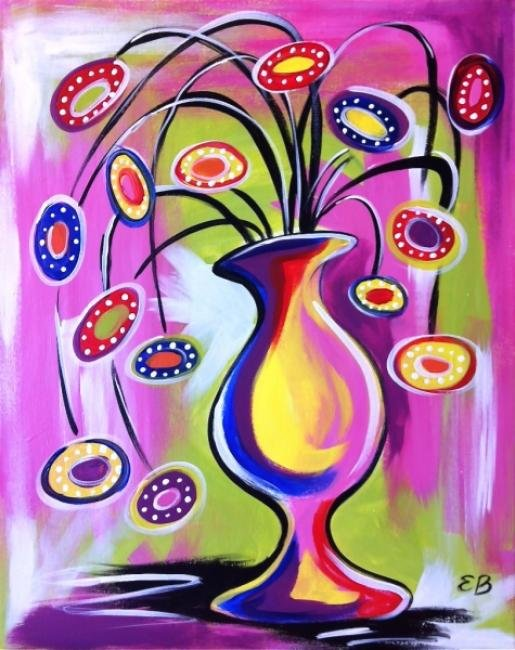 "Painting Workshop: ""Funky Flowers"""