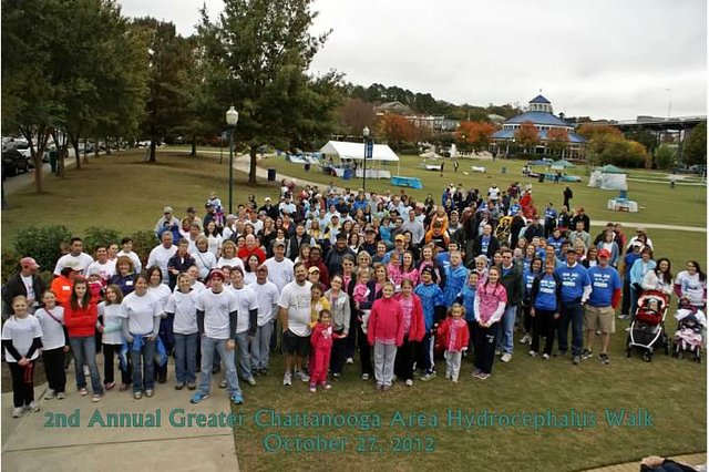 3rd Annual Greater Chattanooga Hydrocephalus Association WALK 2013