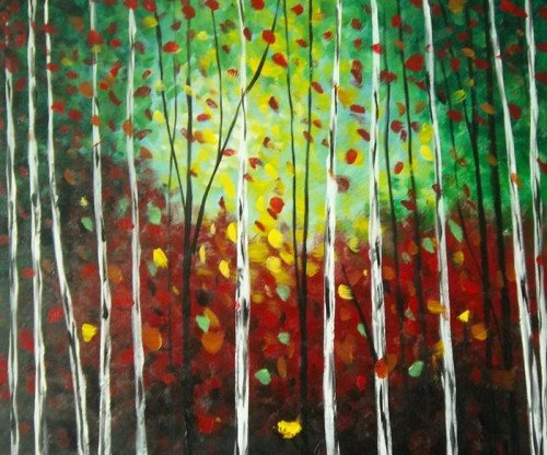 "Painting Workshop: ""Colored Leaves"""