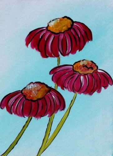 Painting Workshop: Cove Flowers
