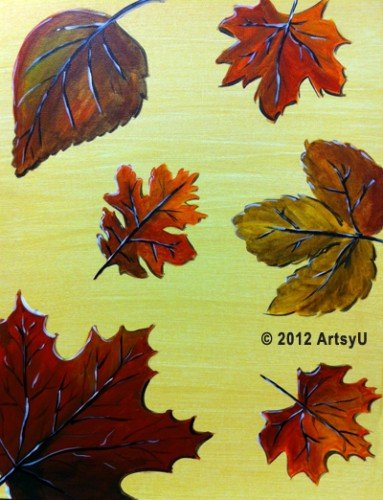Painting Workshop: Fall Leaves