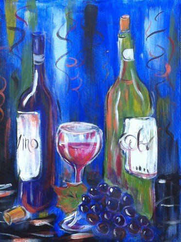 Painting Workshop: Wine and Grapes