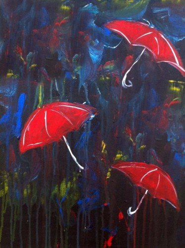 Painting Workshop: Umbrellas