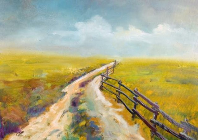 Painting Workshop: Country Road