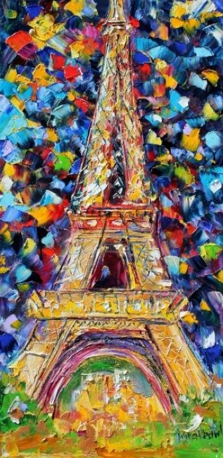 Painting Workshop: Eiffel Tower