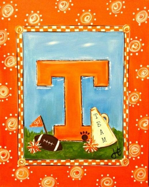 Painting Workshop: Go Vols!
