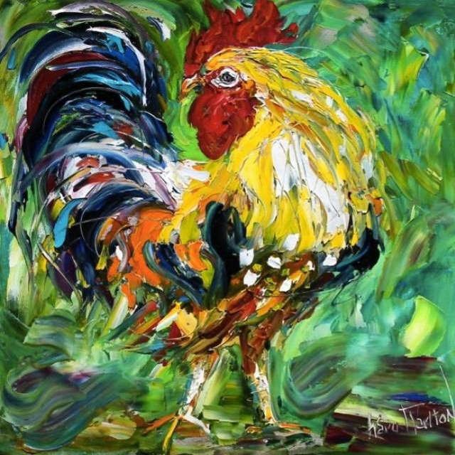 Painting Workshop: Rooster