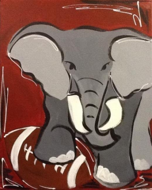Painting Workshop: Elephant with Football