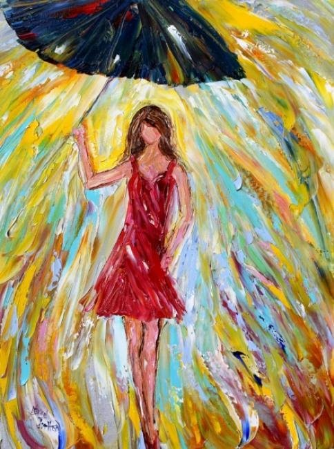 Painting Workshop: Rain Dance by Karen Tarlton