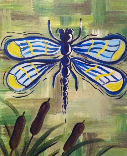 Painting Workshop: Dragon Fly