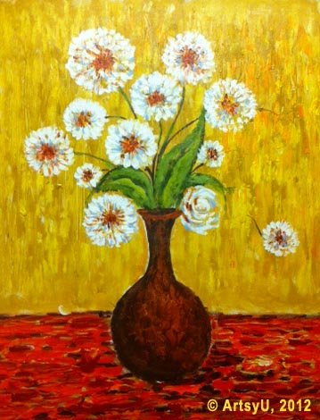 Painting Workshop: White Flowers