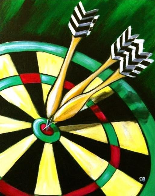 Painting Workshop: Dartboard