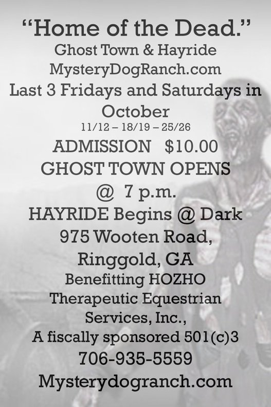 Mystery Dog Ranch Ghost Town & Hayride