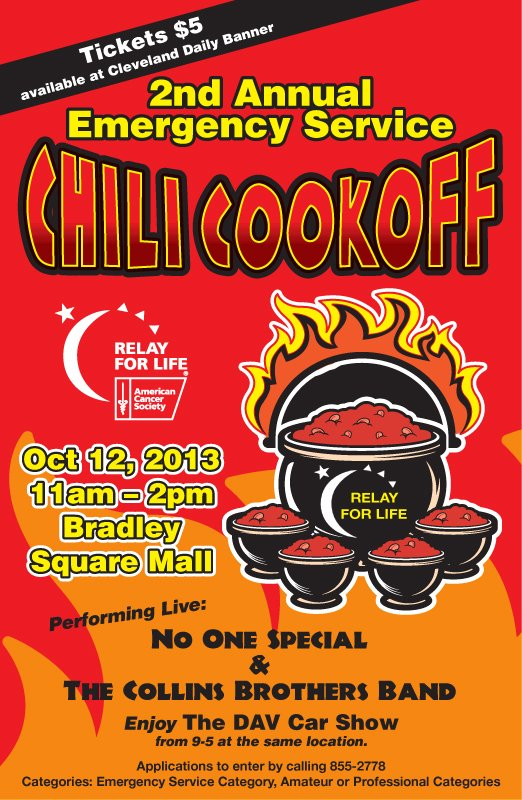 DAV Car Show & American Cancer Society Chilli Cook Off